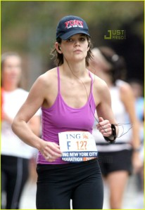 Katie Holmes runs 26.2 miles: ITS THE FARTHEST SHE'S GOTTEN YET!
