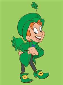 idiotprufs, luck the leprechaun