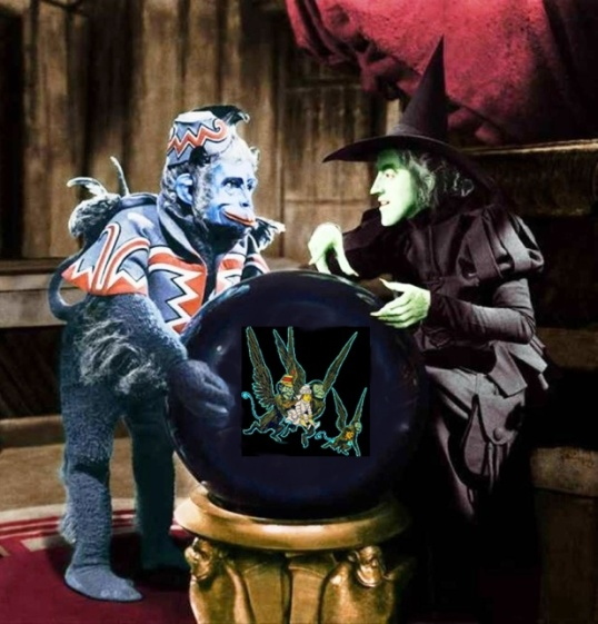 idiotprufs is stilled freaked out by flying monkeys.