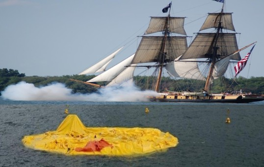 Errant Cannon Fire From Niagara Deflates World S Largest