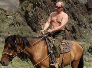 putin horseback