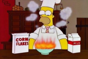 homer cooking