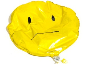sad balloon