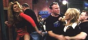 Jerry springer fight