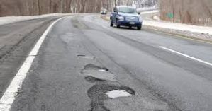 Pennsylvania pot holes