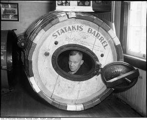 barrel for going over falls