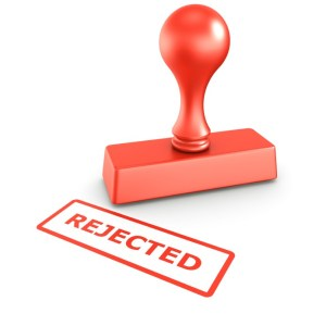 rejection from job