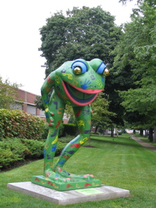 erie frog