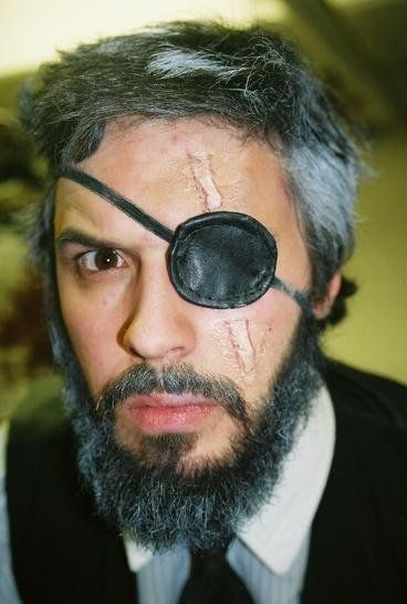 Badass with eyepatch